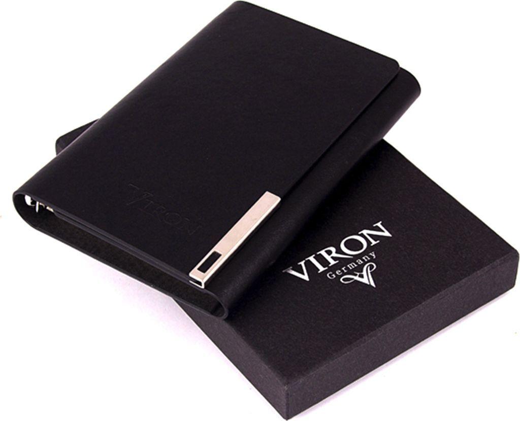 Ежедневник Viron, недатированный, 82709, черный, 80 листов