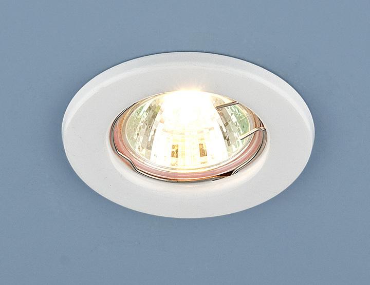 Встраиваемый светильник Elektrostandard Точечный 9210 MR16 WH, G5.3 недорго, оригинальная цена
