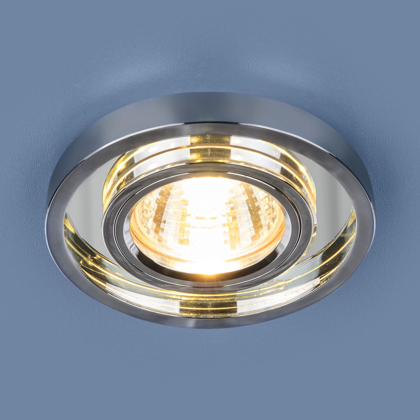 цена на Встраиваемый светильник Elektrostandard Точечный светодиодный 7021 MR16 SL/CH, G5.3