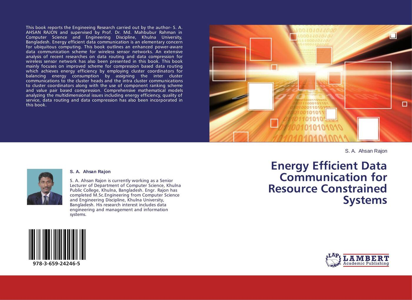 S. A. Ahsan Rajon Energy Efficient Data Communication for Resource Constrained Systems huawei q1 routing cluster set wireless intelligent router