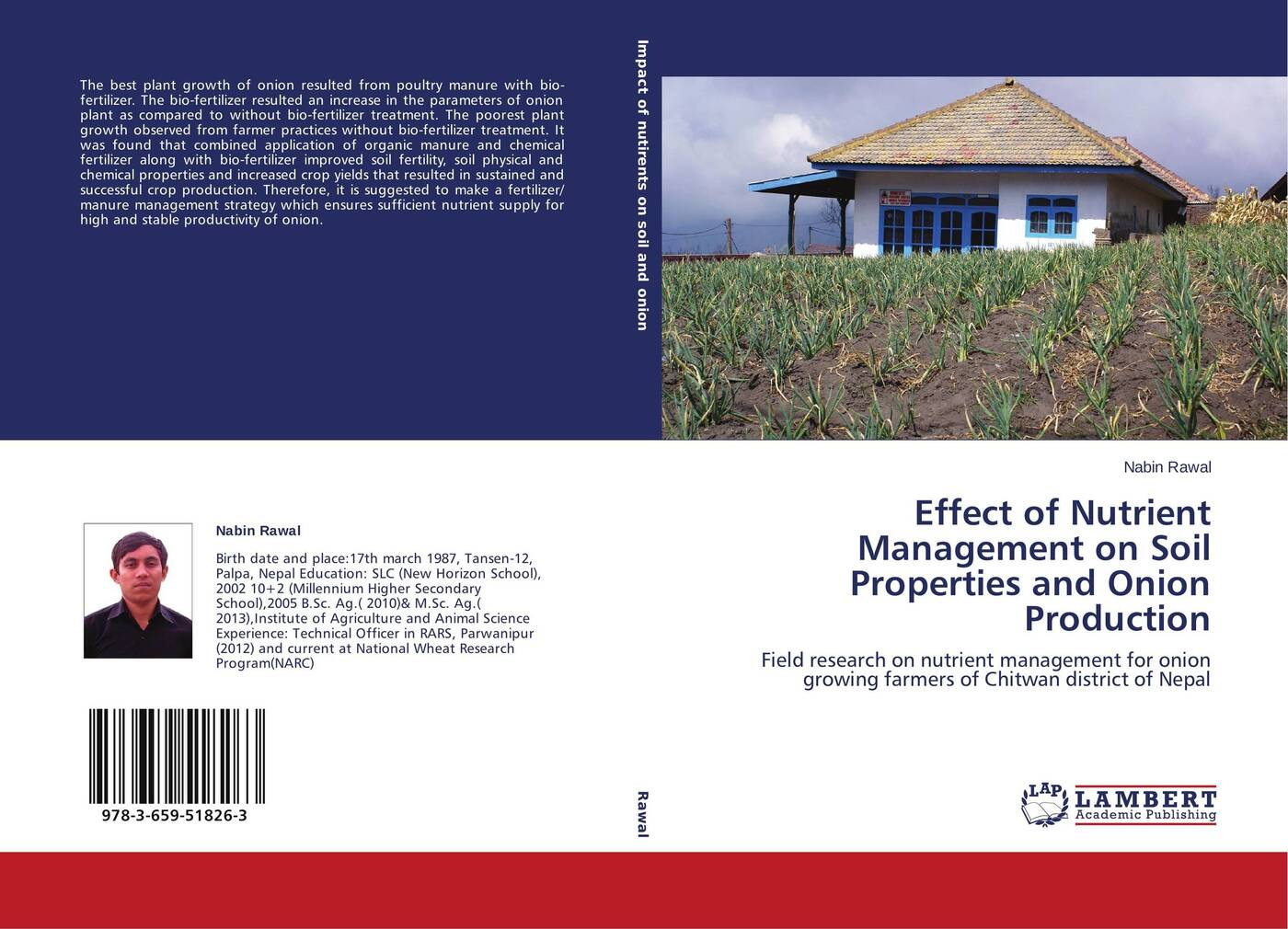 все цены на Nabin Rawal Effect of Nutrient Management on Soil Properties and Onion Production онлайн