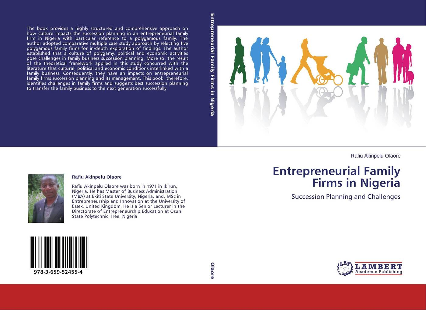 Rafiu Akinpelu Olaore Entrepreneurial Family Firms in Nigeria economic and political impacts of business improvement district
