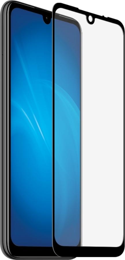 Стекло защитное Dekken рамка FULL SCREEN/FULL GLUE для Xiaomi Redmi Note 7