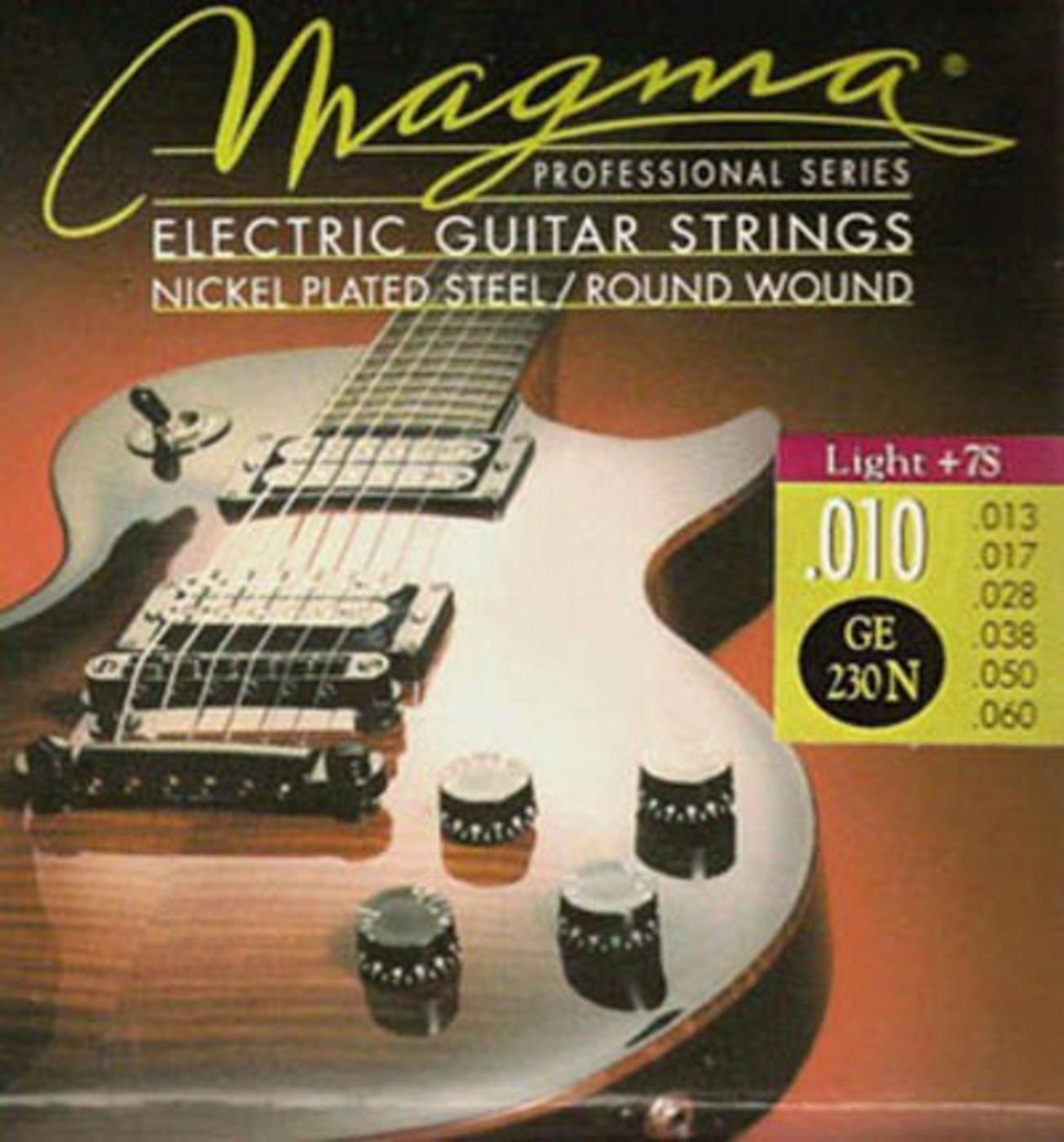 цена Комплект струн для 7-струнной электрогитары Magma GE230N онлайн в 2017 году