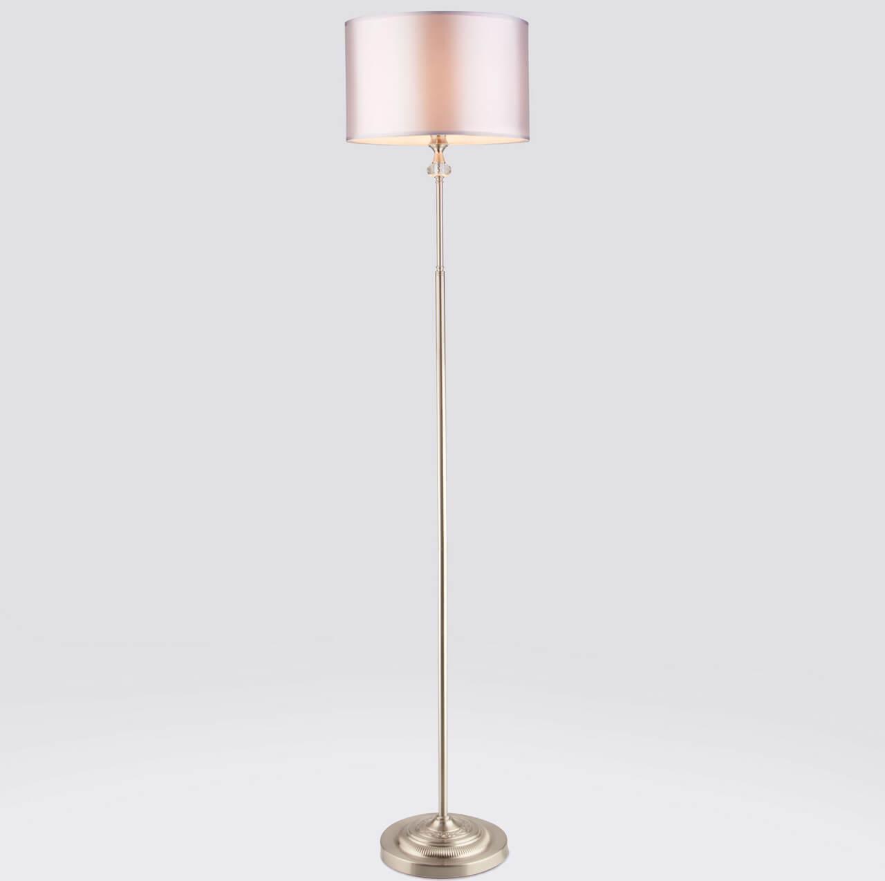 Напольный светильник EUROSVET 01050/1 сатин-никель, E14, 40 Вт торшер eurosvet 01050 1 сатин никель