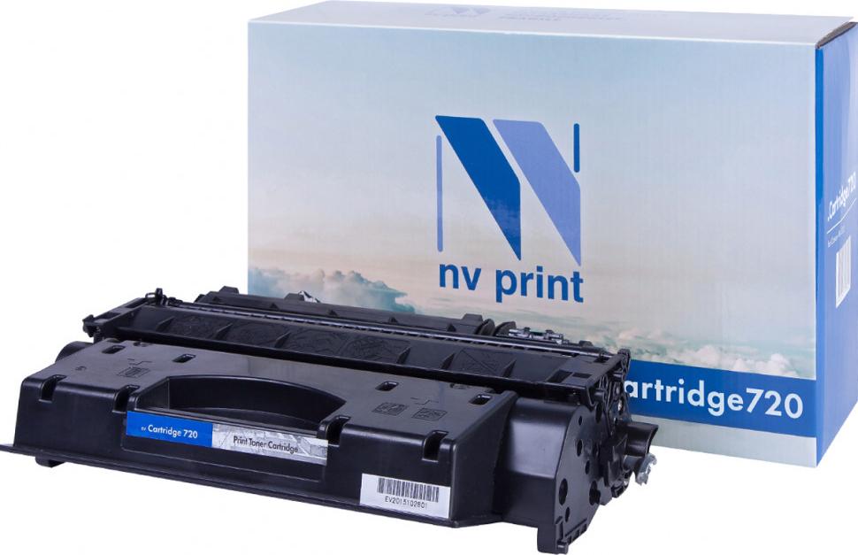 Тонер-картридж NV Print 720, черный, для лазерного принтера