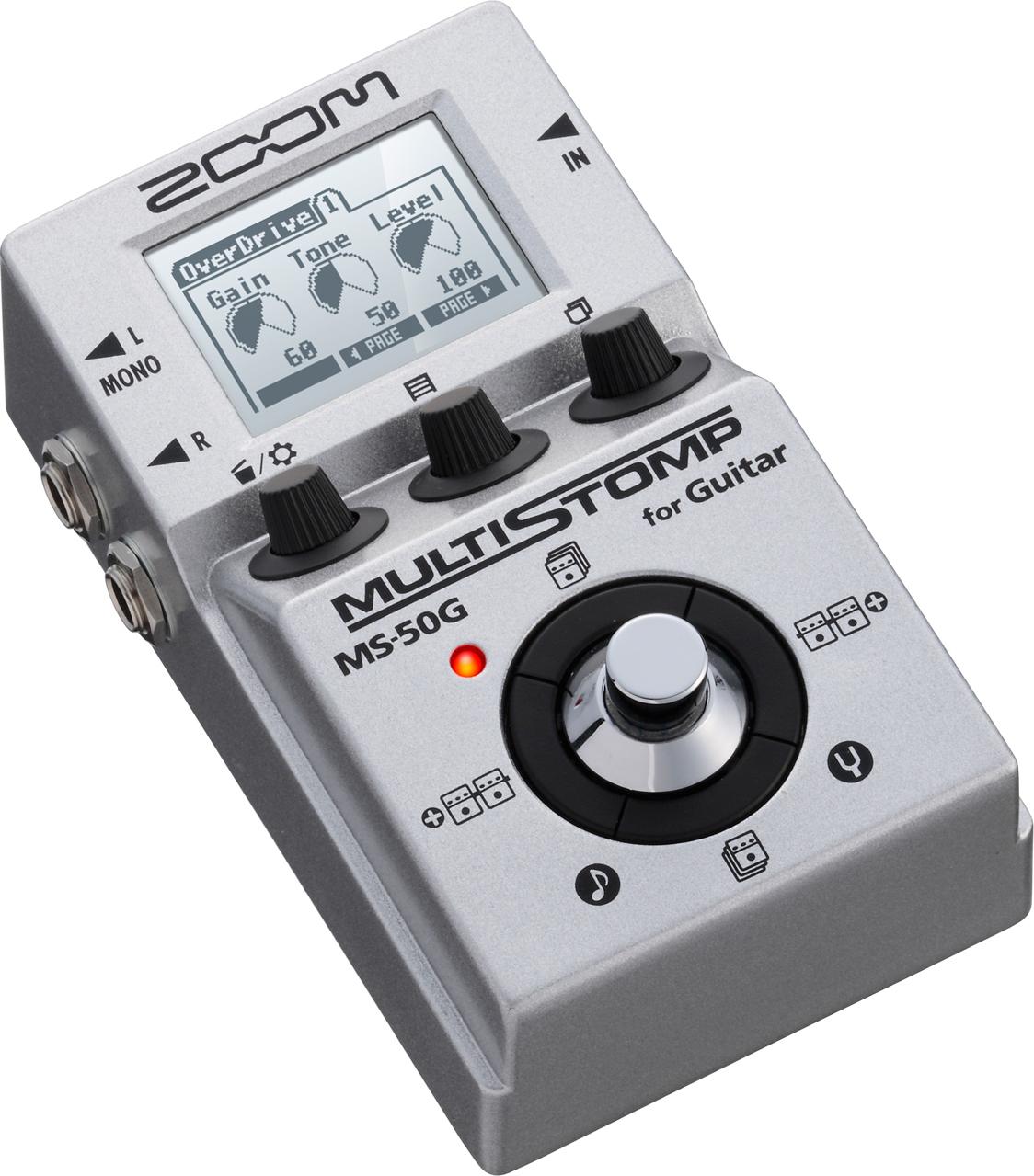 Мульти педаль эффектов для электрогитары Zoom MS-50G