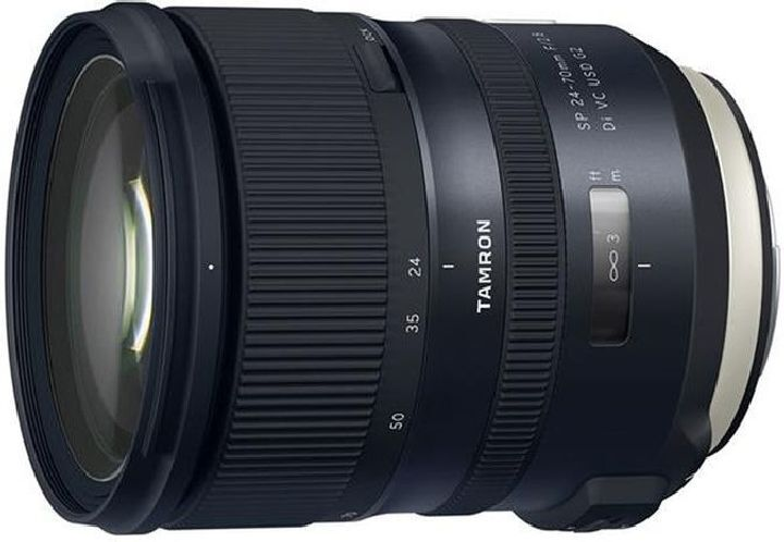 Объектив Tamron SP 24-70mm f/2.8 Di VC USD G2 для Canon, черный