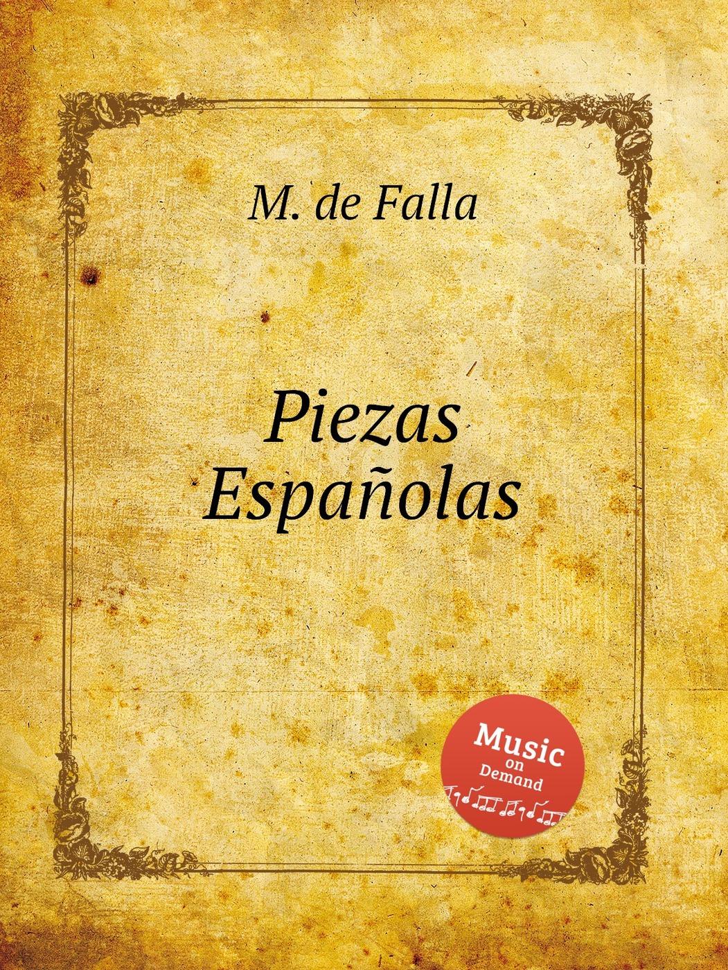 Piezas Espanolas 9785884599888