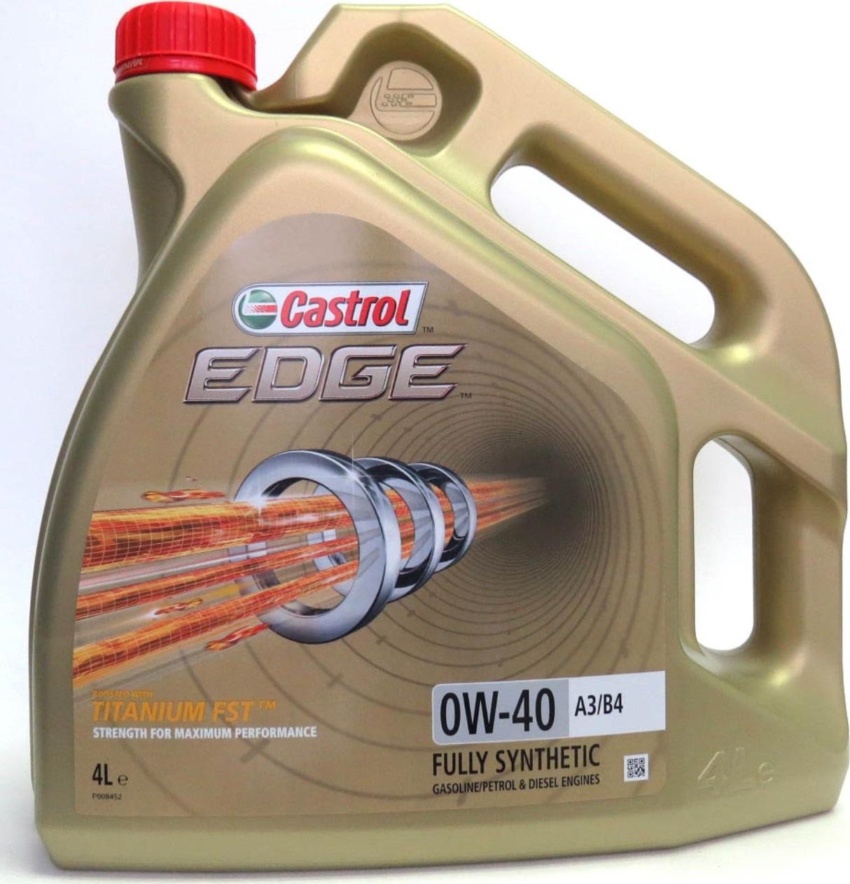 Масло CASTROL EDGE 0W-40 4 л