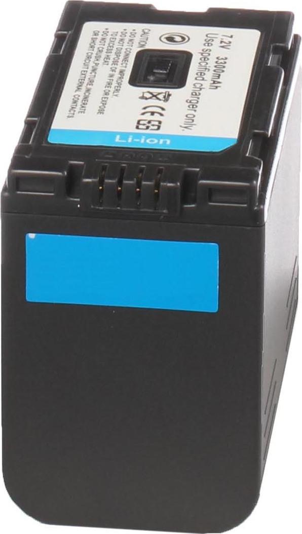 Аккумуляторная батарея iBatt iB-T1-F316 3300mAh для камер Hitachi DZ-MV208E, DZ-MV270, DZ-MV100, DZ-MV200E,  для Panasonic NV-GS15, NV-GX7, AG-DVX100BE, NV-DS60, NV-DS65, AG-HVX200, NV-MX500, AG-DVC30E, NV-DS30, NV-GS5, NV-MD9000, NV-DS28, NV-MX500EN,