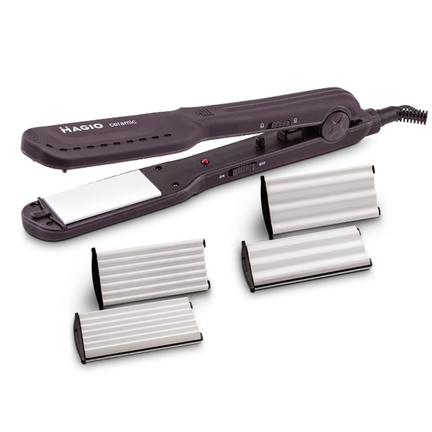 Выпрямитель-гофре для волос Magio MG-722
