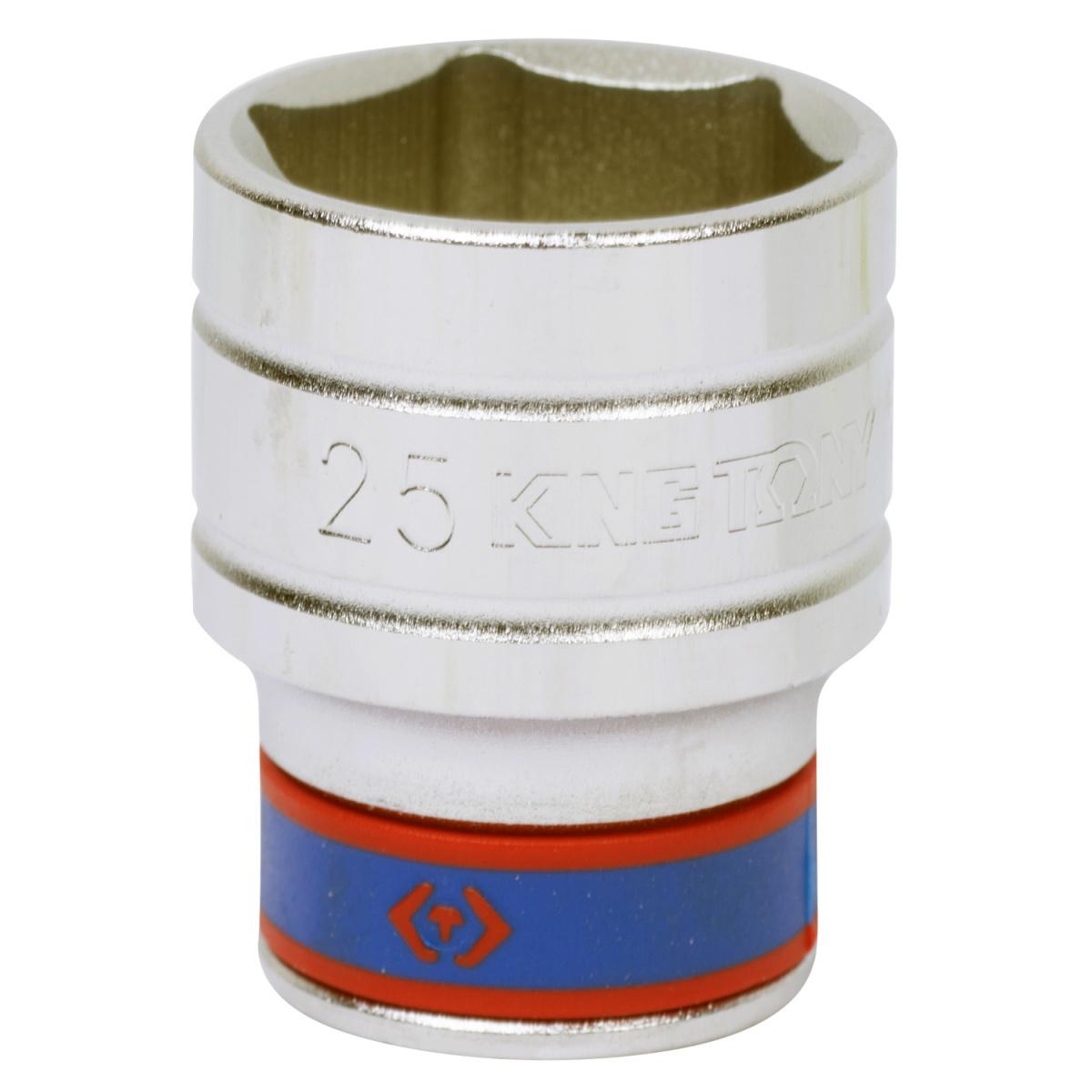 "Головка торцевая стандартная шестигранная 1/2"", 25 мм KING TONY 433525M"