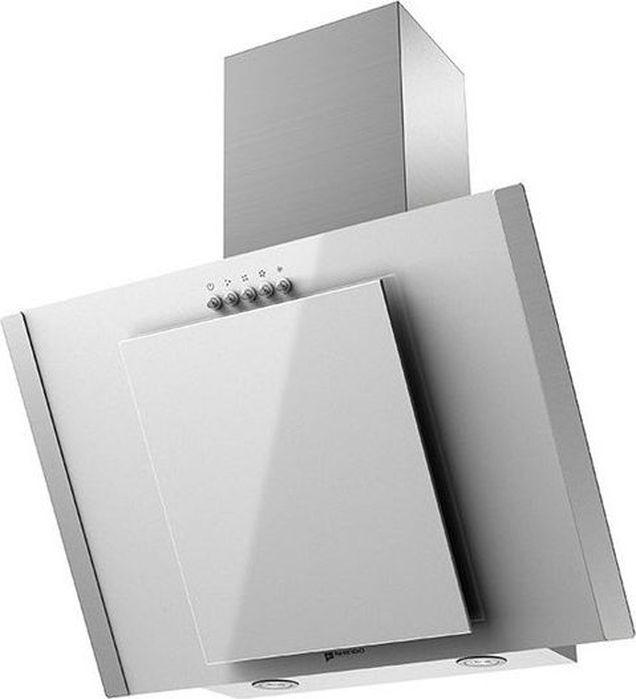 Вытяжка Shindo Ostaria 60 SS/WG, белый, серебристый