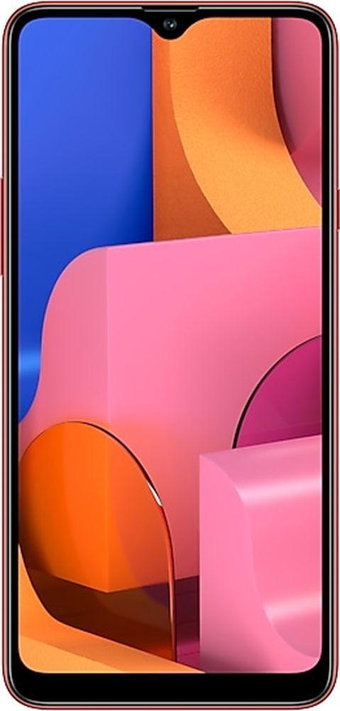 Смартфон Samsung Galaxy A20s 32GB, красный