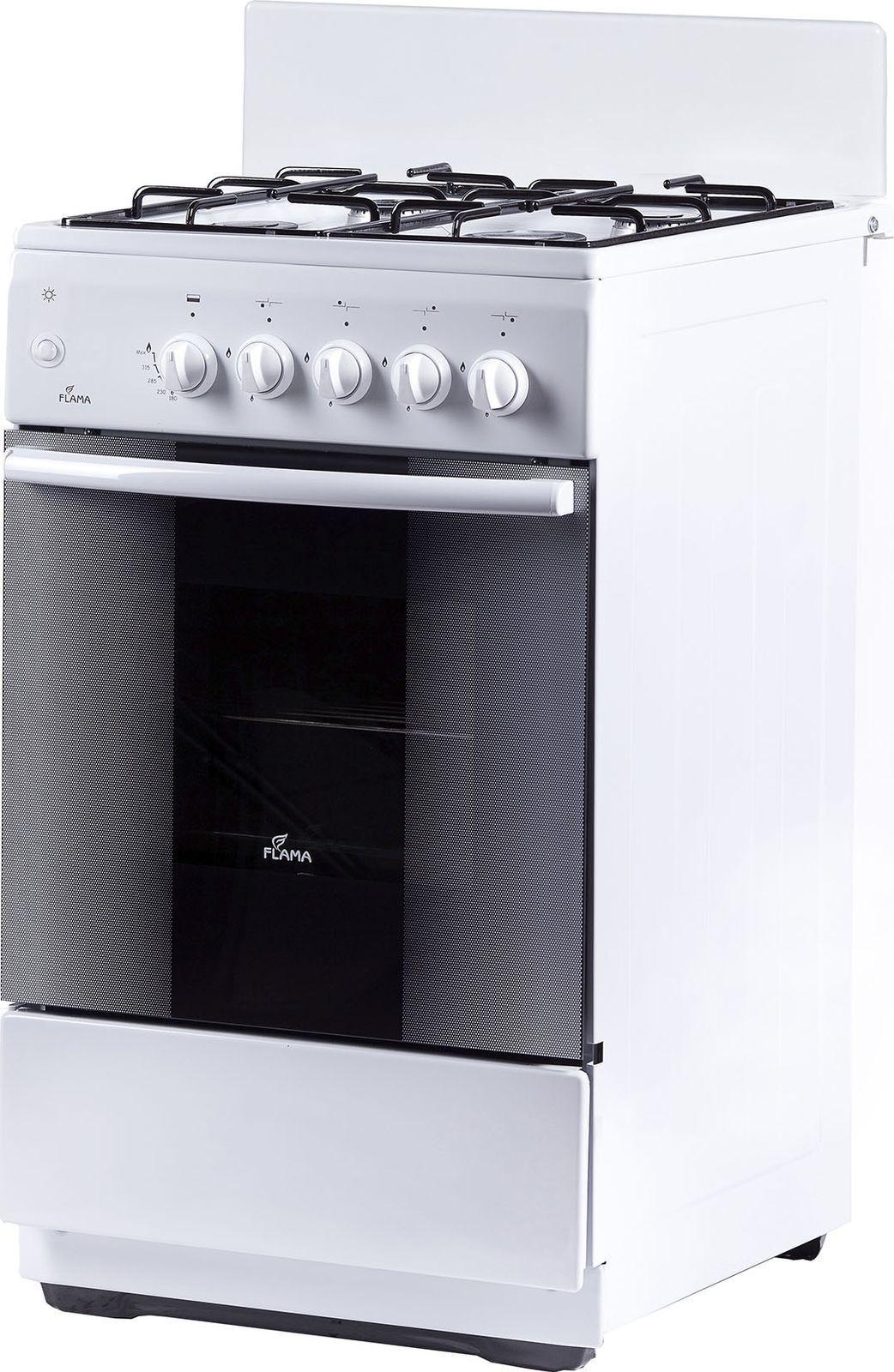 Кухонная плита Flama AK 1416 W, белый