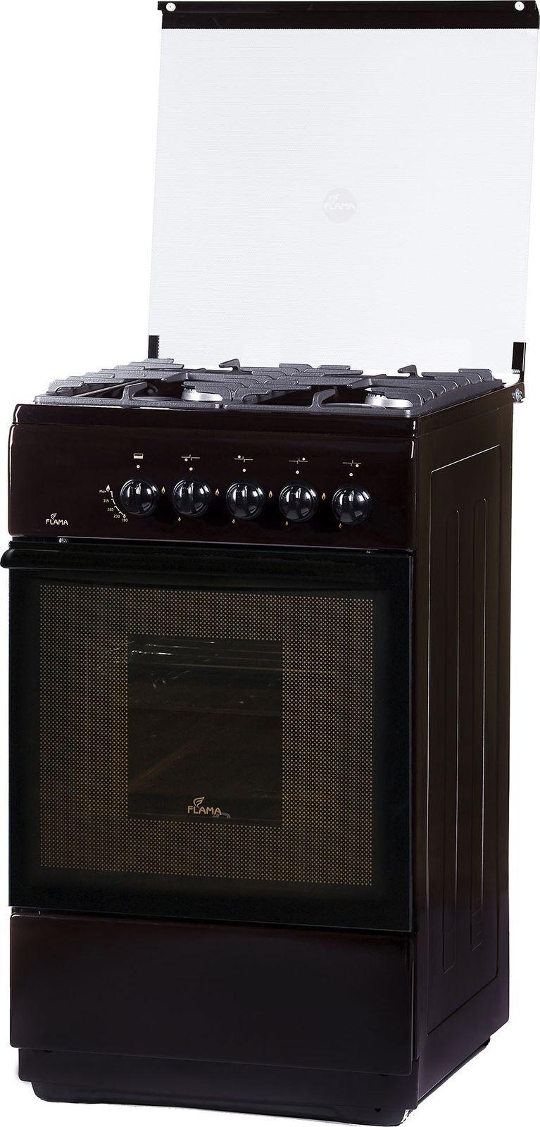 Кухонная плита Flama FG 24022 B, коричневый