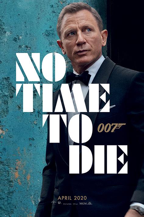 Постер James Bond (No Time To Die - Azure Teaser) 61 x 91.5 см, в тубусе