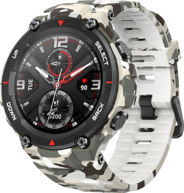 Смарт-часы Amazfit T-Rex (A1919), Camo Green