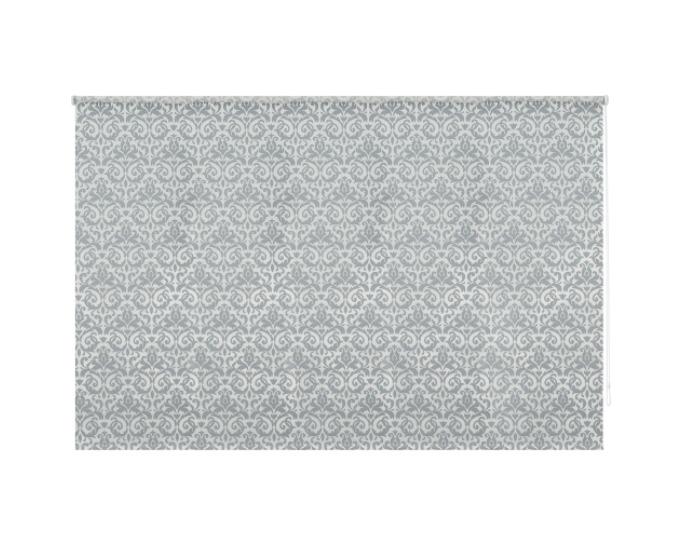 Штора рулонная, 120х175 см, цвет серый-20923