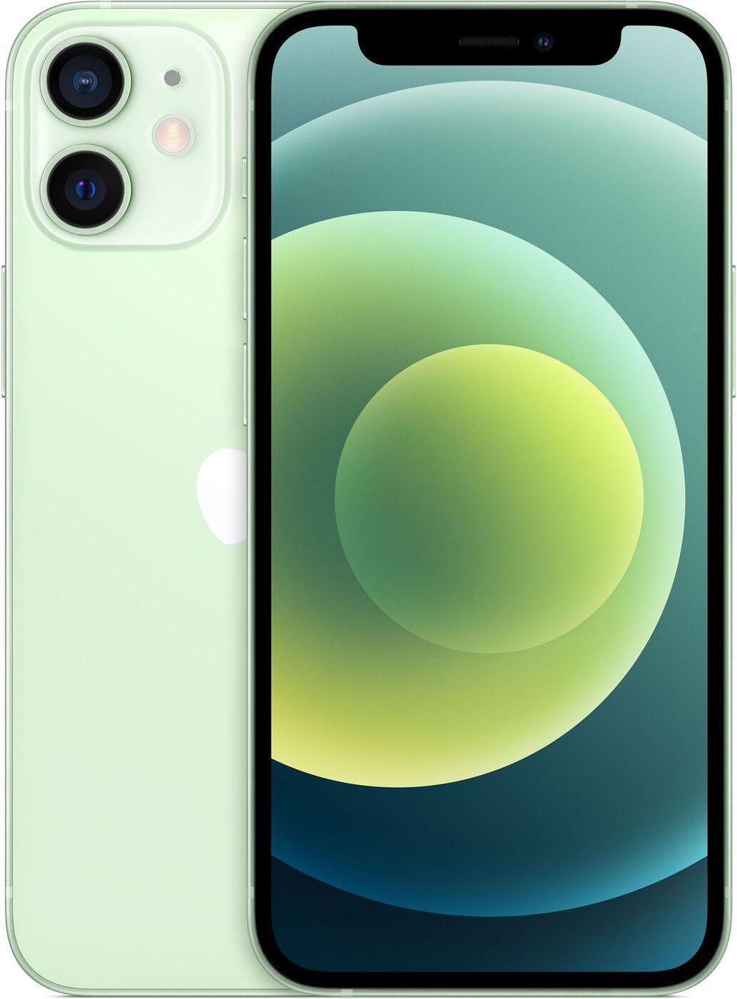 смартфон apple iphone 12 mini 64gb, зеленый