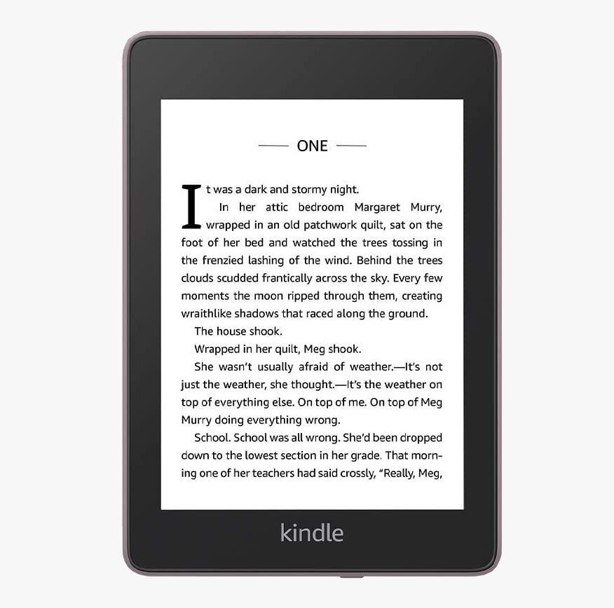 "электронная книга amazon kindle paperwhite 2018 8gb, black 6"", черный"