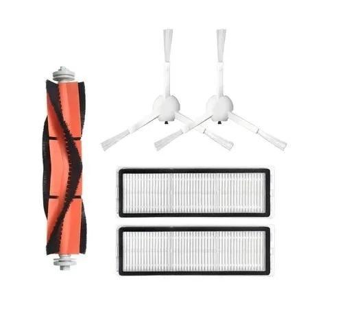 HEPA фильтр (2шт)+щетка основная+боковая щетка (2шт) для робота пылесоса Xiaomi Mijia Sweeping Vacuum Cleaner 1C