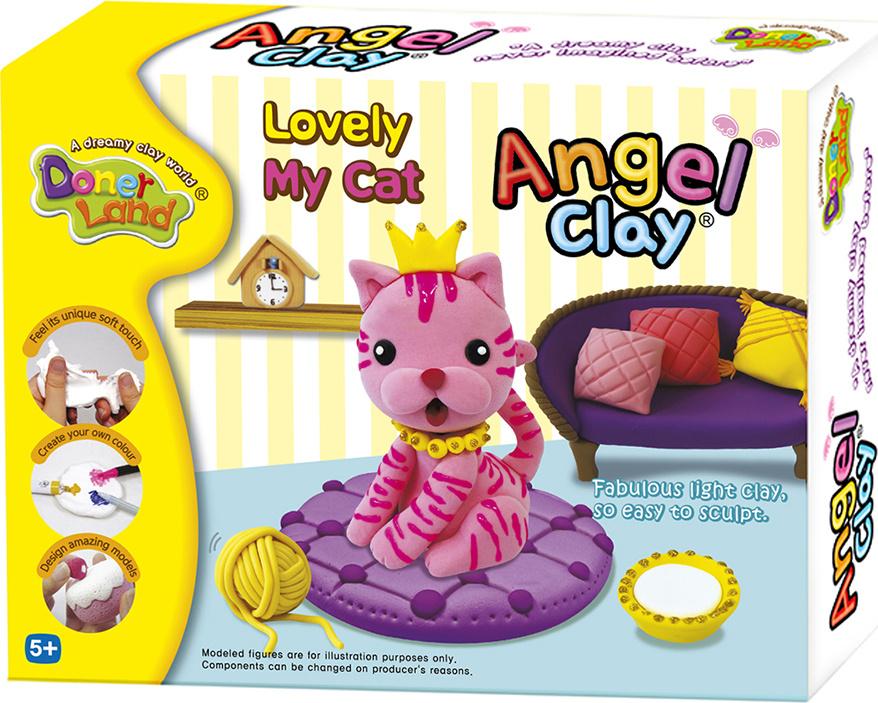 "Набор мягкого пластилина Angel Clay ""Кошечка"" #1"