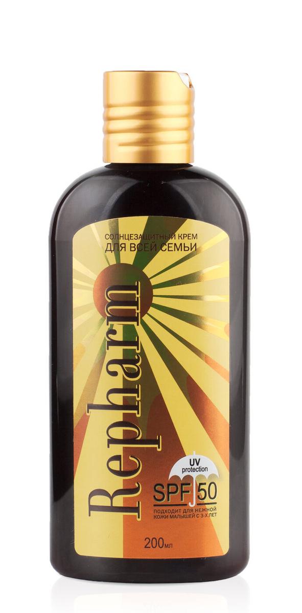 Repharm Солнцезащитный крем для всей семьи SPF 50 200 мл #1