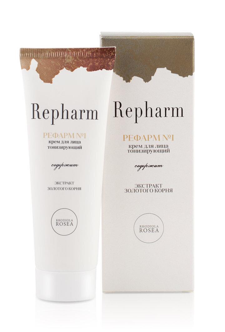 Крем лица тонизирующий Repharm Рефарм №1 туба 50г #1