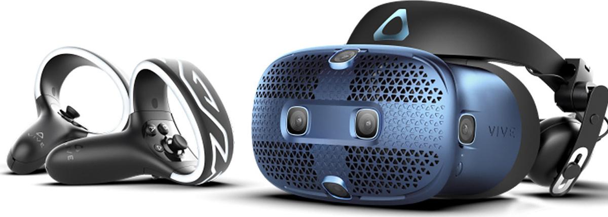 Очки виртуальной реальности HTC Vive Cosmos, HTC-99HARL027-00, синий #1