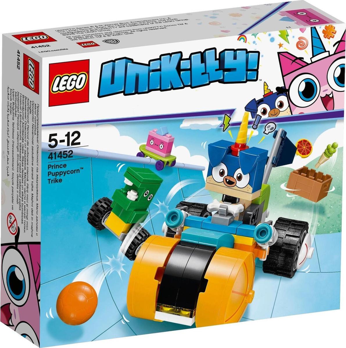Конструктор LEGO Unikitty! TM 41452 Велосипед принца Паппикорна #1