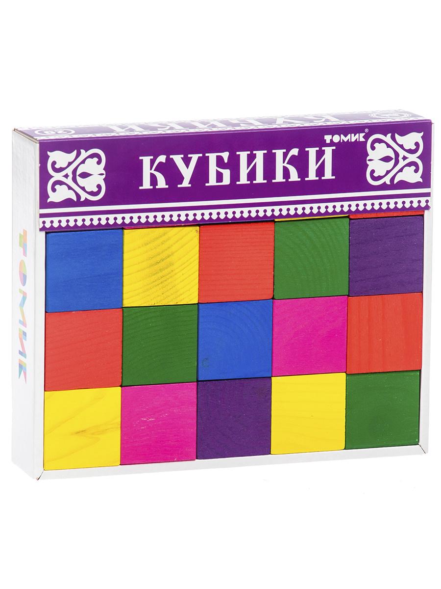 Кубики цветные Томик 20 шт. #1
