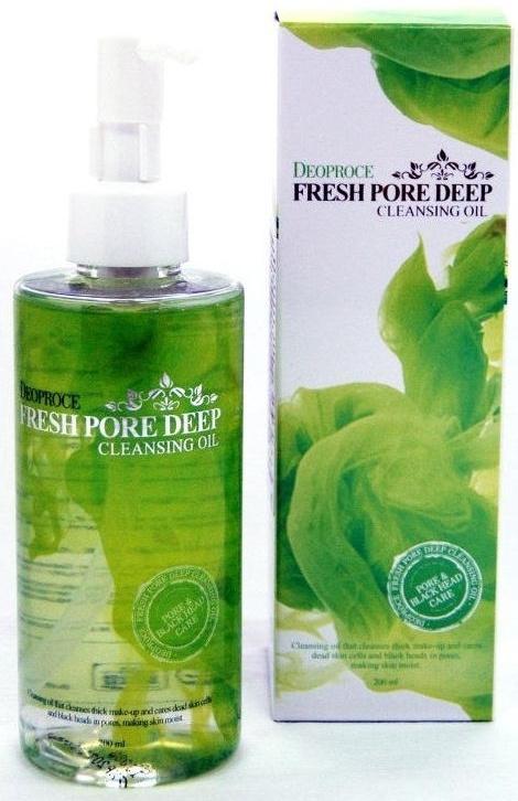 Deoproce Масло гидрофильное для глубокого очищения пор Fresh Pore Deep Cleansing Oil, 200мл  #1