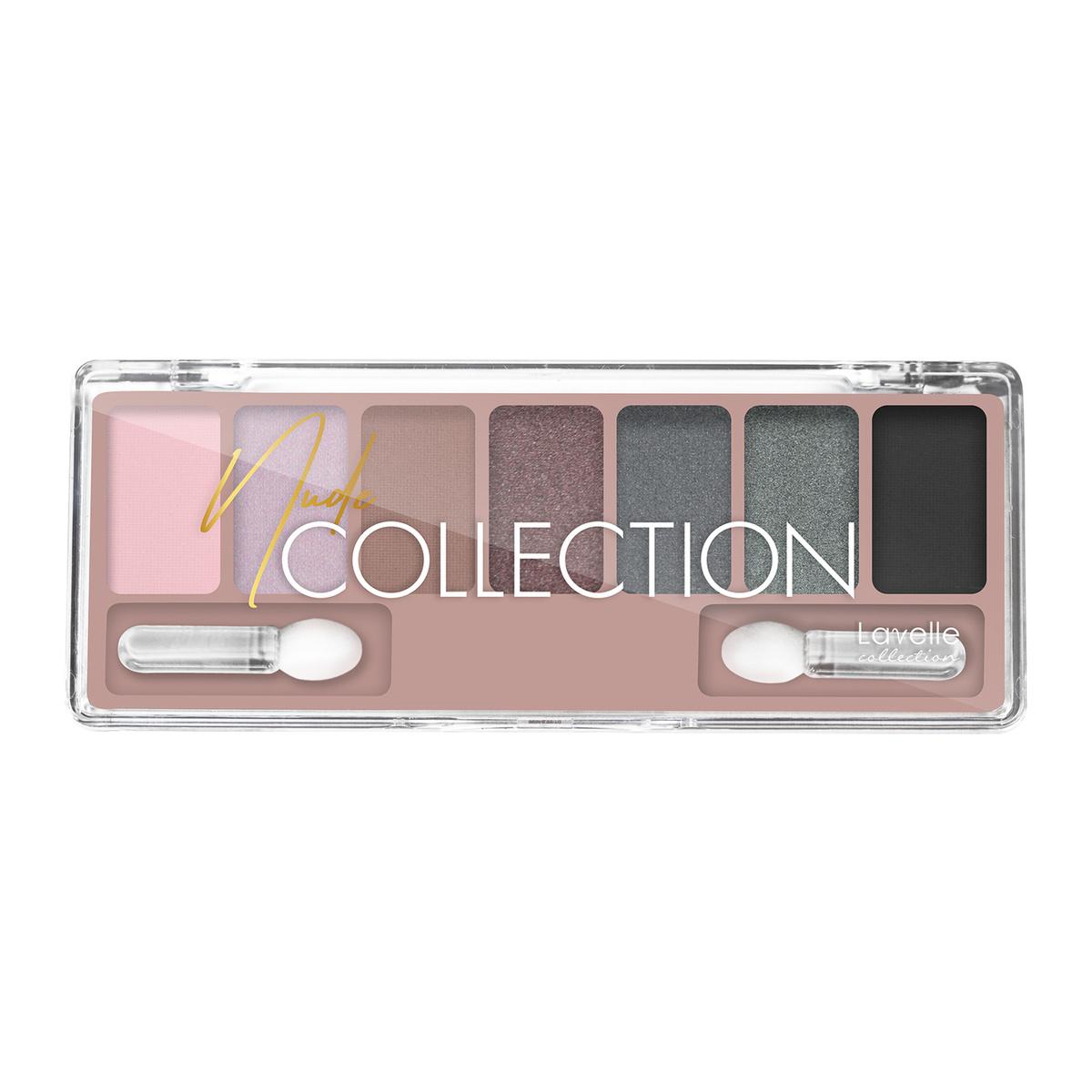 LavelleCollection Тени для век, NUDE COLLECTION, тон 04, серо-розовый нюд #1