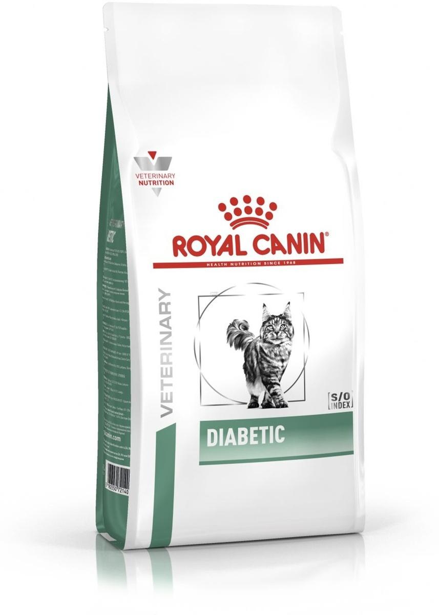 "Корм сухой Royal Canin ""Vet Diabetic feline DS46"", для кошек при сахарном диабете, 1,5 кг  #1"