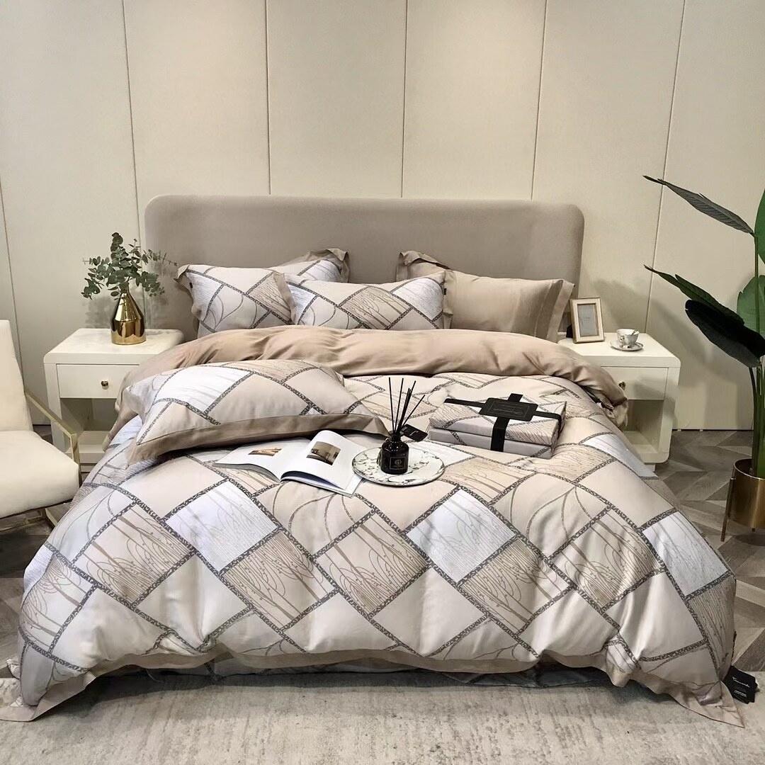 Комплект постельного белья с одеялом ARTTEXTILE nso08 1,5 спальный, Тенсель, Тенсел, наволочки 50x70 #1