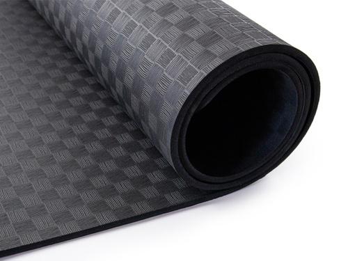 Коврик спортивный черный 0,6 см — купить в интернет-магазине OZON с быстрой доставкой