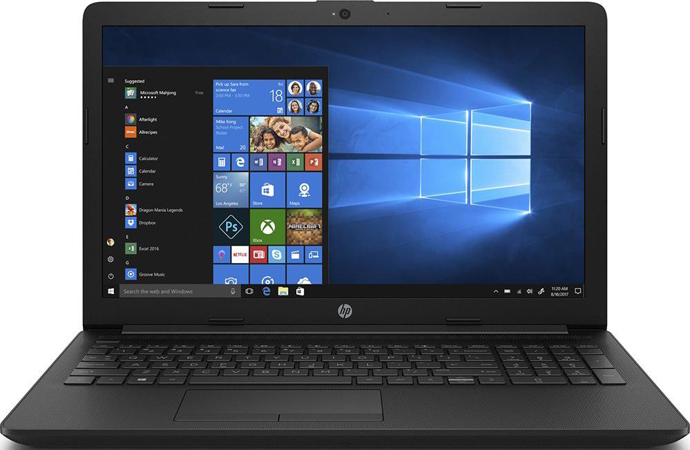 15,6 Ноутбук HP 15-da1046ur 6ND57EA, черный ноутбук hp 15 bw591ur 2pw80ea