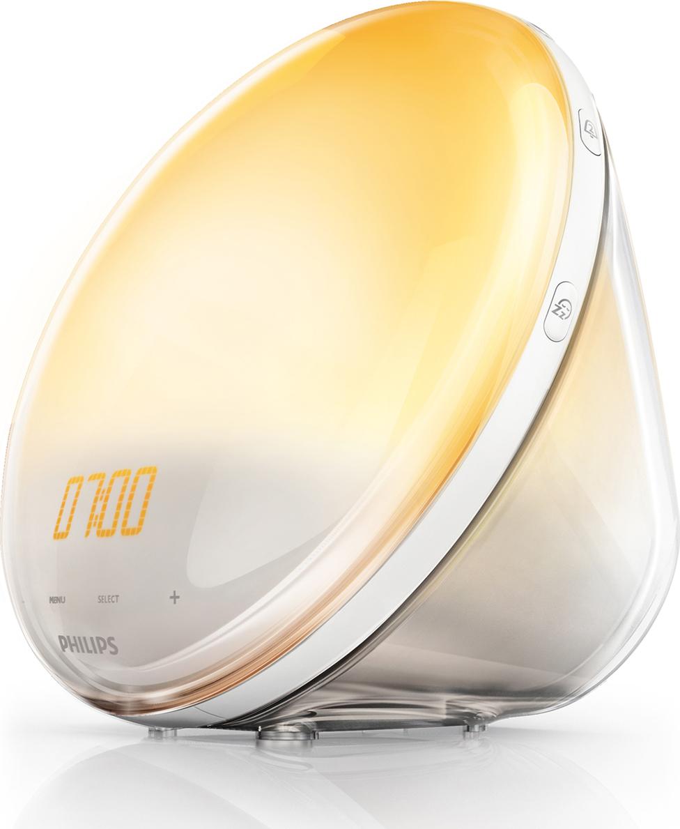 Электронный будильник Philips philips hf3520 70 wake up light световой будильник