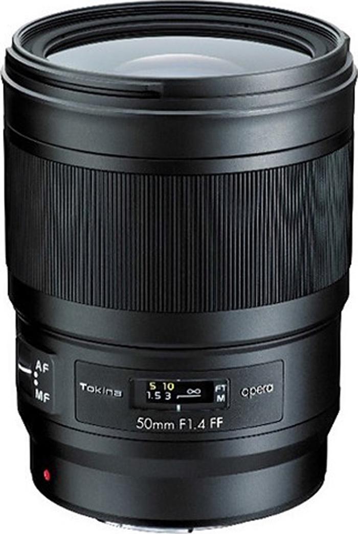Широкоугольный объектив Tokina Opera 50mm F1.4 FF AF для Canon