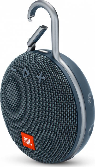 Портативная акустическая система JBL Clip 3 Blue