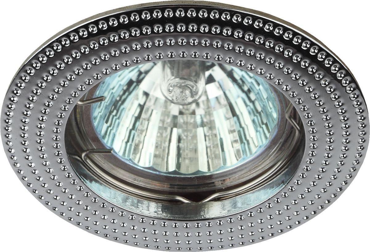 Встраиваемый светильник ЭРА, 50 Вт эра c0043804 st3 ch mr16 12v 220v 50w хром