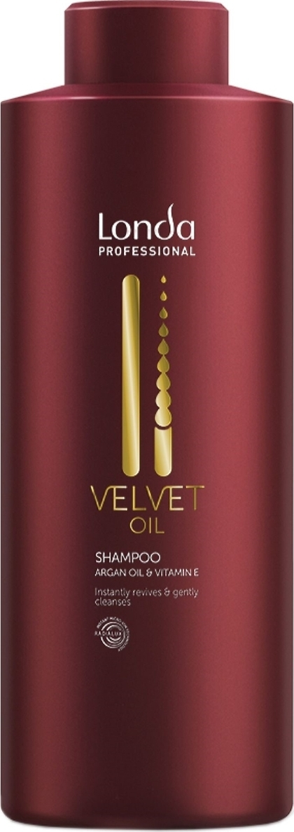 Шампунь Londa Professional Velvet Oil с аргановым маслом,1 л