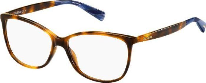 Оправа для очков женская Max Mara 1229, MAX-14737305L5614, коричневый оправа max