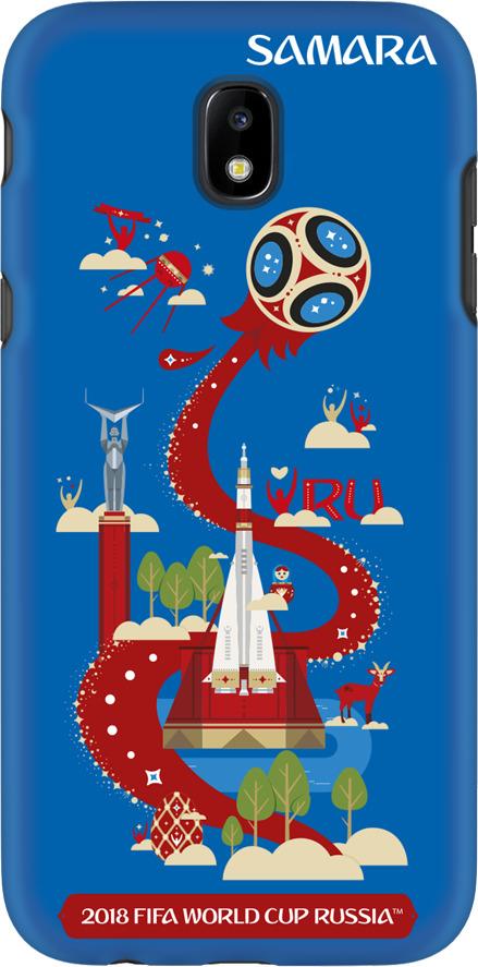 Фото - Чехол TPU для Samsung Galaxy J5(2017), FIFA Samara, Deppa чехол perfeo для samsung j5 2017 tpu зеленый pf 5311