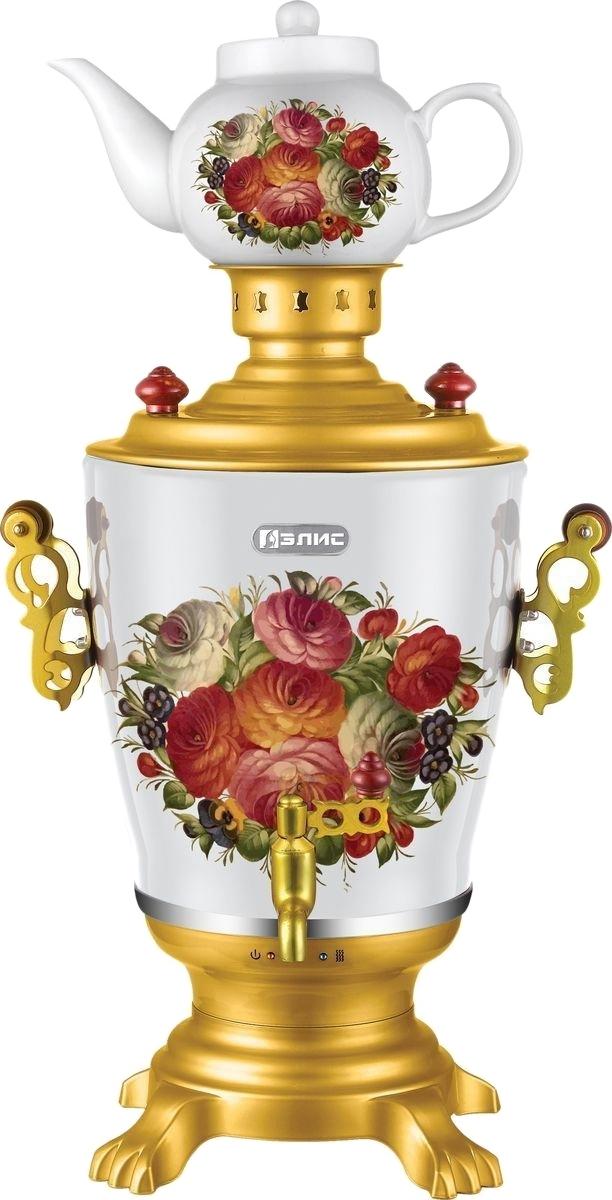 Самовар электрический Элис ЭЛ-4064 эл чайник 1 2л 1000вт керамика zm 1217593