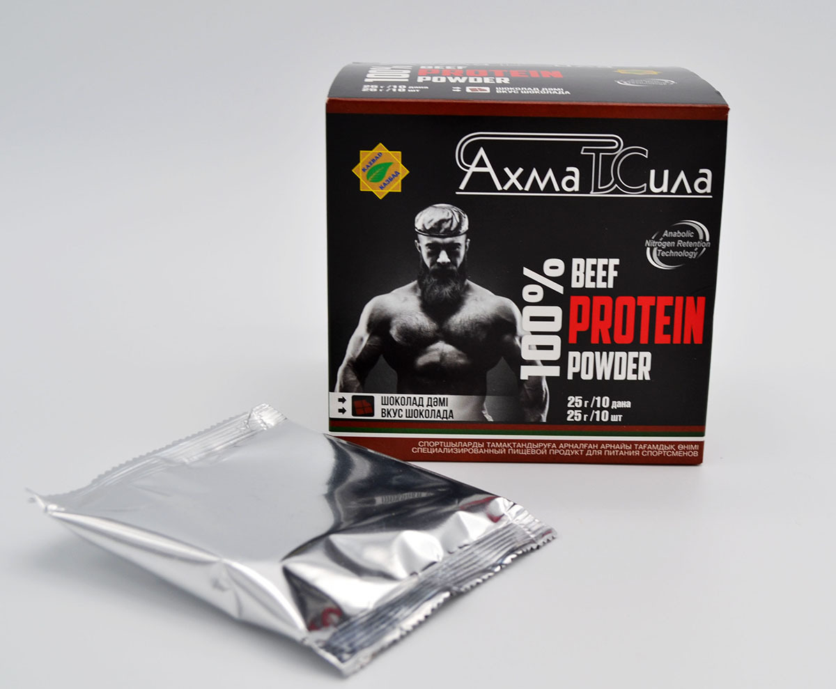 Ахмат сила протеин шоколад 10 шт. по 25 г