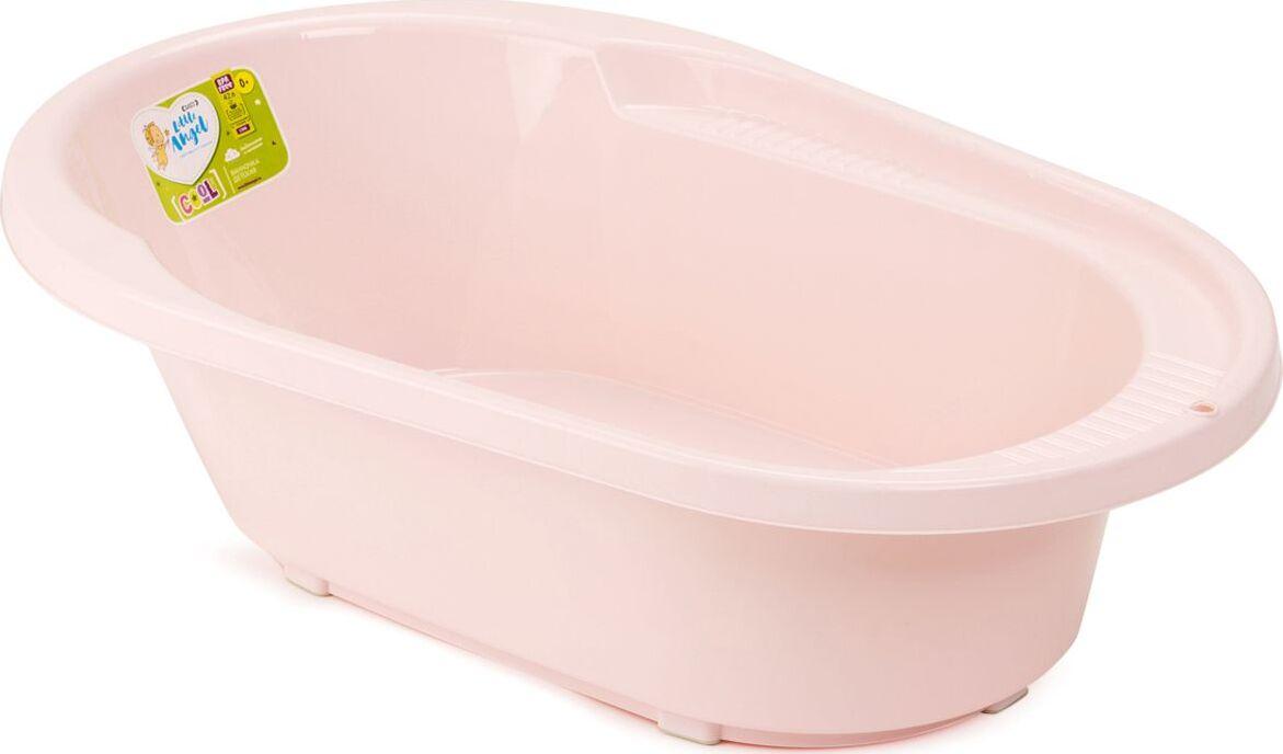 детские ванночки bebe jou ванночка для купания 6256 Ванночка детская Little Angel Cool, со сливом, розовый