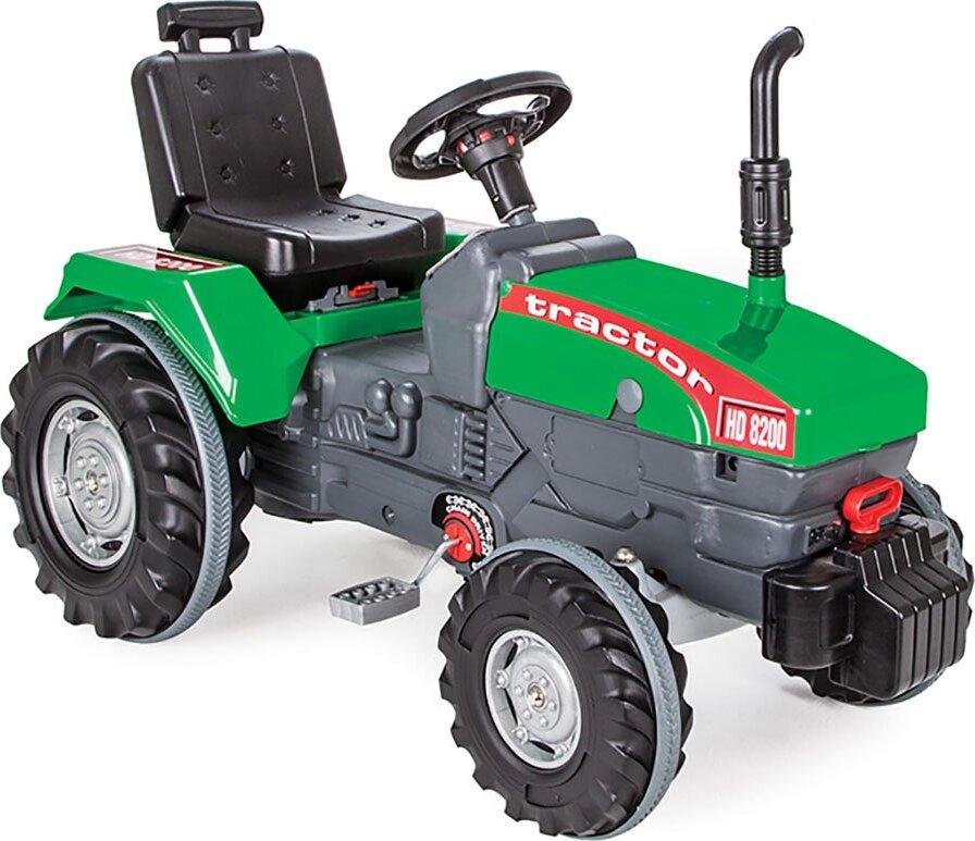Педальная машина Pilsan Chained Tractor педальная машина pilsan tractor цвет красный 07 314